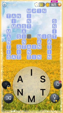 Word Crossy Level 1933 Answers