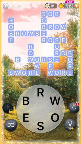 Word Crossy Level 1943 Answers