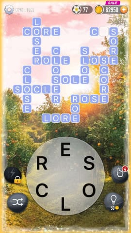 Word Crossy Level 1949 Answers