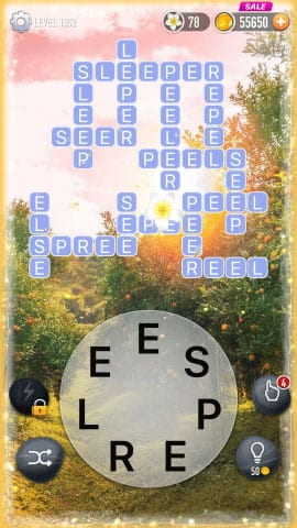 Word Crossy Level 1952 Answers