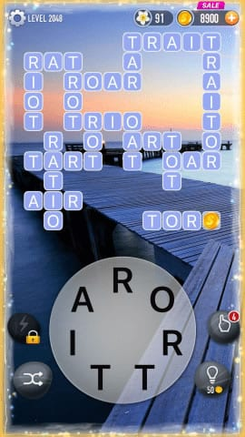 Word Crossy Level 2048 Answers
