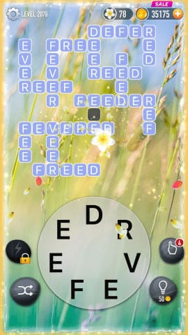 Word Crossy Level 2076 Answers
