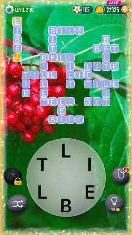 Word Crossy Level 2102 Answers