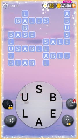 Word Crossy Level 211 Answers