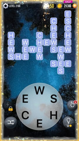 Word Crossy Level 2160 Answers