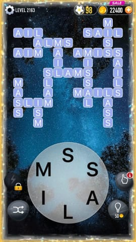 Word Crossy Level 2163 Answers