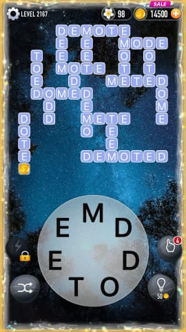 Word Crossy Level 2167 Answers