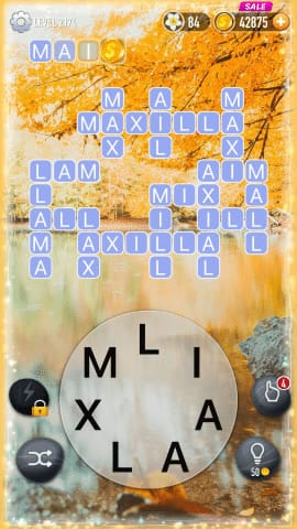 Word Crossy Level 2174 Answers
