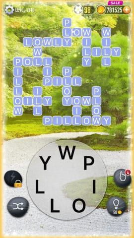 Word Crossy Level 2210 Answers