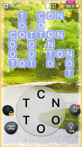 Word Crossy Level 2217 Answers