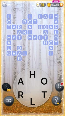 Word Crossy Level 2234 Answers
