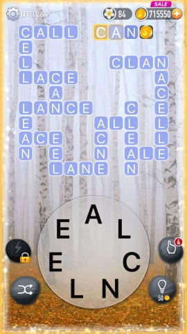 Word Crossy Level 2243 Answers