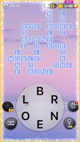 Word Crossy Level 228 Answers