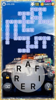 Word Crossy Level 2318 Answers