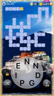 Word Crossy Level 2319 Answers