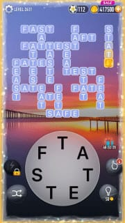 Word Crossy Level 2411 Answers