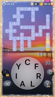 Word Crossy Level 2418 Answers