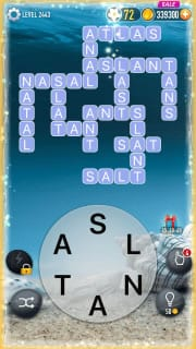 Word Crossy Level 2443 Answers