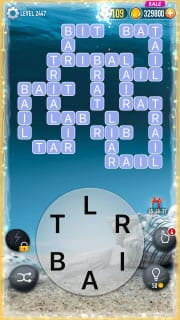 Word Crossy Level 2447 Answers