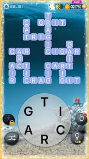 Word Crossy Level 2451 Answers