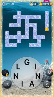 Word Crossy Level 2452 Answers