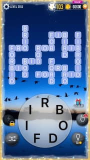 Word Crossy Level 2555 Answers
