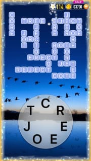 Word Crossy Level 2556 Answers