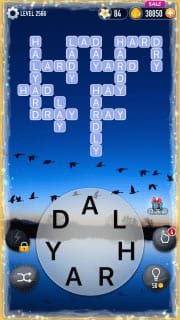 Word Crossy Level 2566 Answers