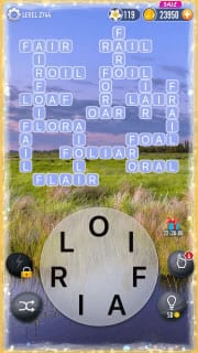 Word Crossy Level 2744 Answers