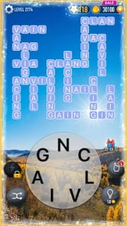 Word Crossy Level 2774 Answers