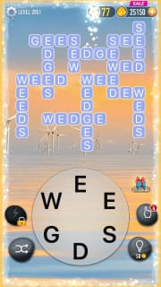 Word Crossy Level 2851 Answers