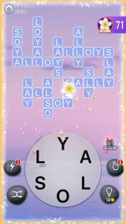 Word Crossy Level 2884 Answers