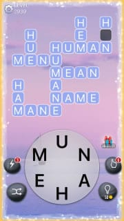 Word Crossy Level 2939 Answers