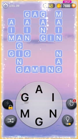 Word Crossy Level 299 Answers