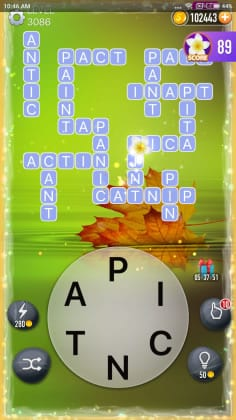 Word Crossy Level 3086 Answers