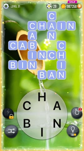 Word Crossy Level 31 Answers