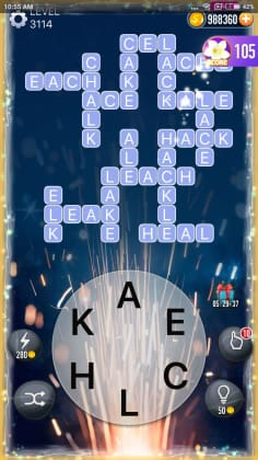 Word Crossy Level 3114 Answers