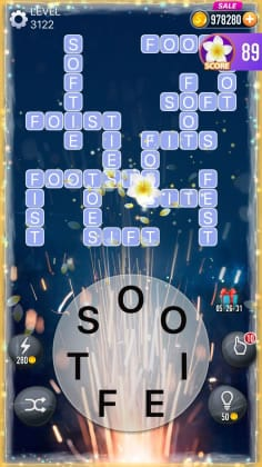 Word Crossy Level 3122 Answers