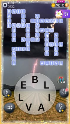 Word Crossy Level 3132 Answers