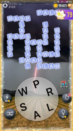 Word Crossy Level 3133 Answers