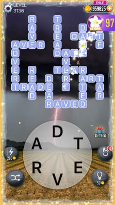 Word Crossy Level 3136 Answers