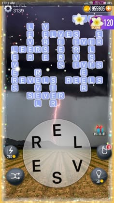 Word Crossy Level 3139 Answers