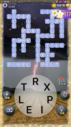 Word Crossy Level 3144 Answers