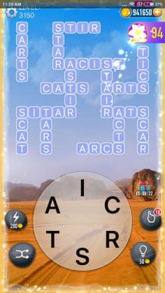 Word Crossy Level 3150 Answers