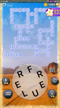Word Crossy Level 3154 Answers