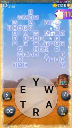 Word Crossy Level 3156 Answers