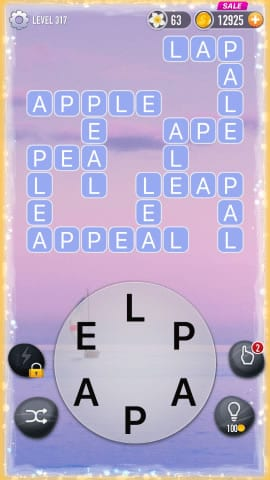Word Crossy Level 317 Answers