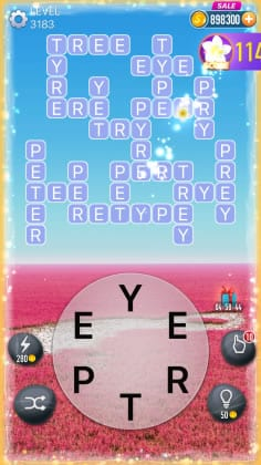 Word Crossy Level 3183 Answers