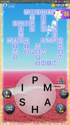 Word Crossy Level 3188 Answers