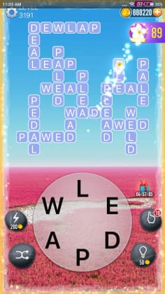 Word Crossy Level 3191 Answers